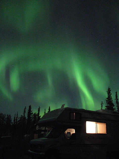 Aurora over Ester AK